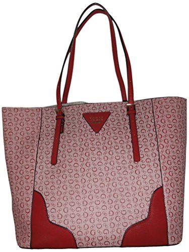 add4aadce589 Guess Womens Purse Handbag Darcie Tote Burgundy