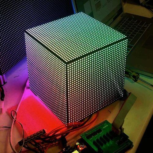 32x32 Rgb Led Matrix Panel 6mm Pitch Led Diy Led Video Wall Arduino Led