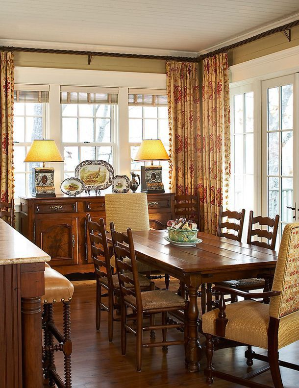 Photo of 15 Beautiful Dining Room Curtains