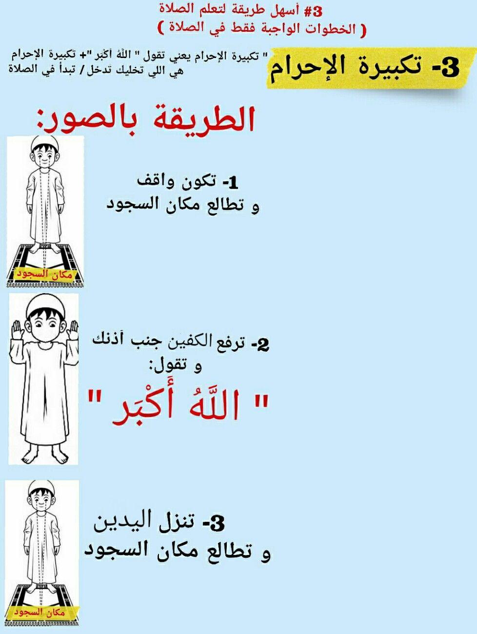 ٣ أسهل طريقة لتعلم الصلوات الخمس اليومية الخطوات الواجبة فقط في الصلاة من دون المستحبات Taal