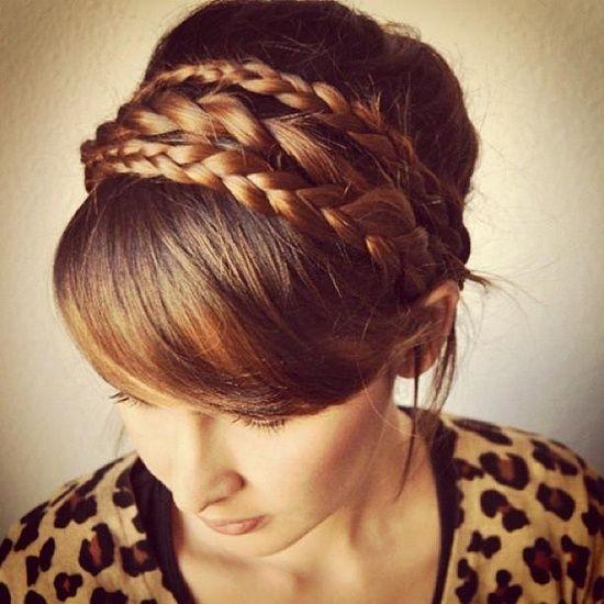 esto es muy elegante *** Cheveux de princesse, Coiffure