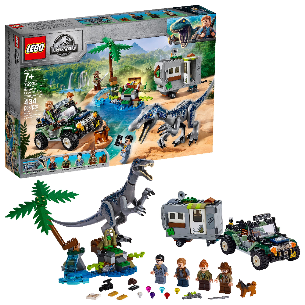 LEGO Jurassic World Baryonyx FaceOff The Treasure Hunt