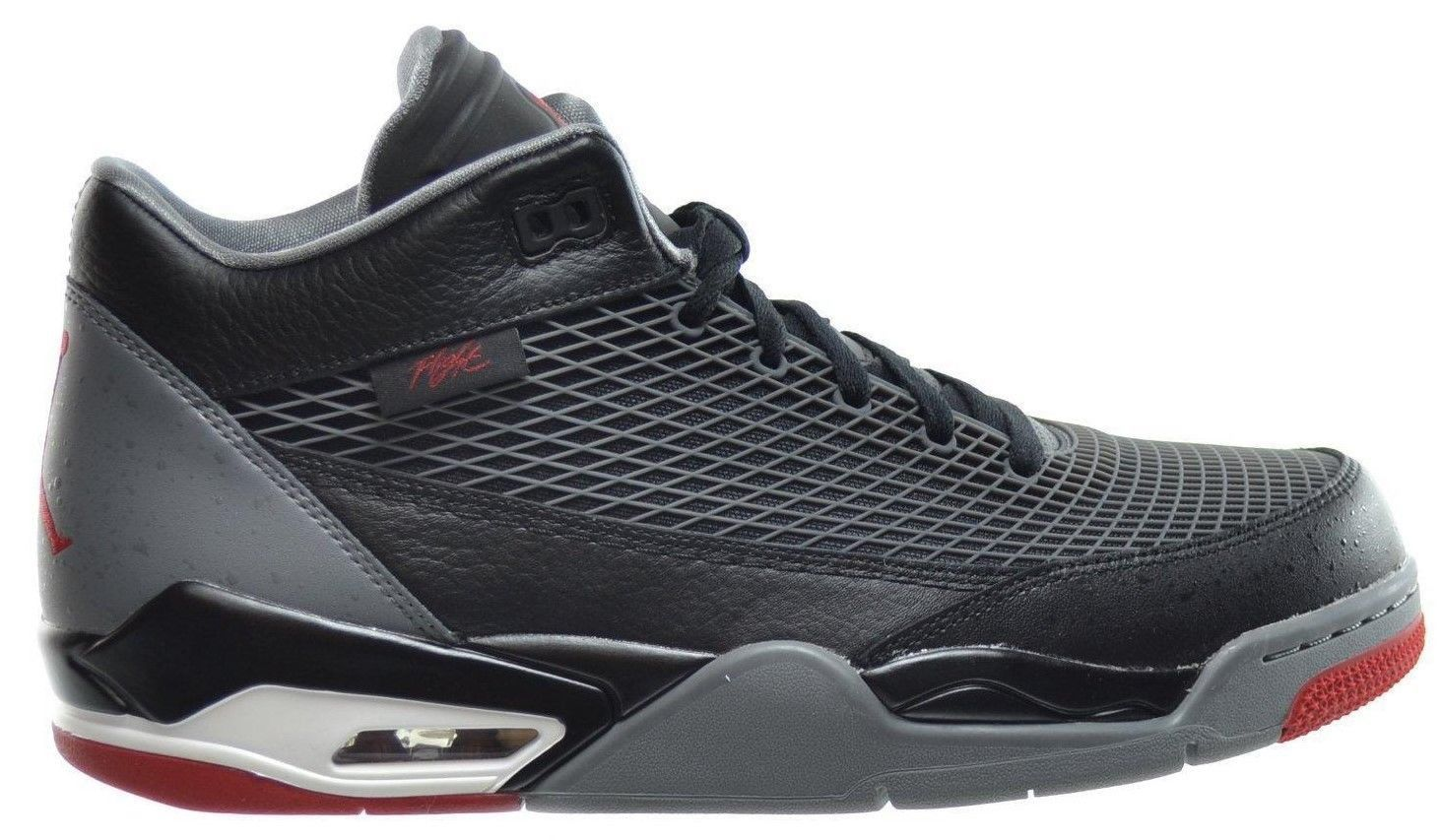 new products 3ef76 805bb Air Jordan Flight Club 80 s Black Red Grey White Mens Basketball Sneakers  Nike Size 9