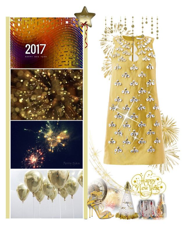 """""""Happy New Year to Polyvore & Friends"""" by fashionqueen76 ❤ liked on Polyvore featuring Diane Von Furstenberg, friends and happynewyear"""