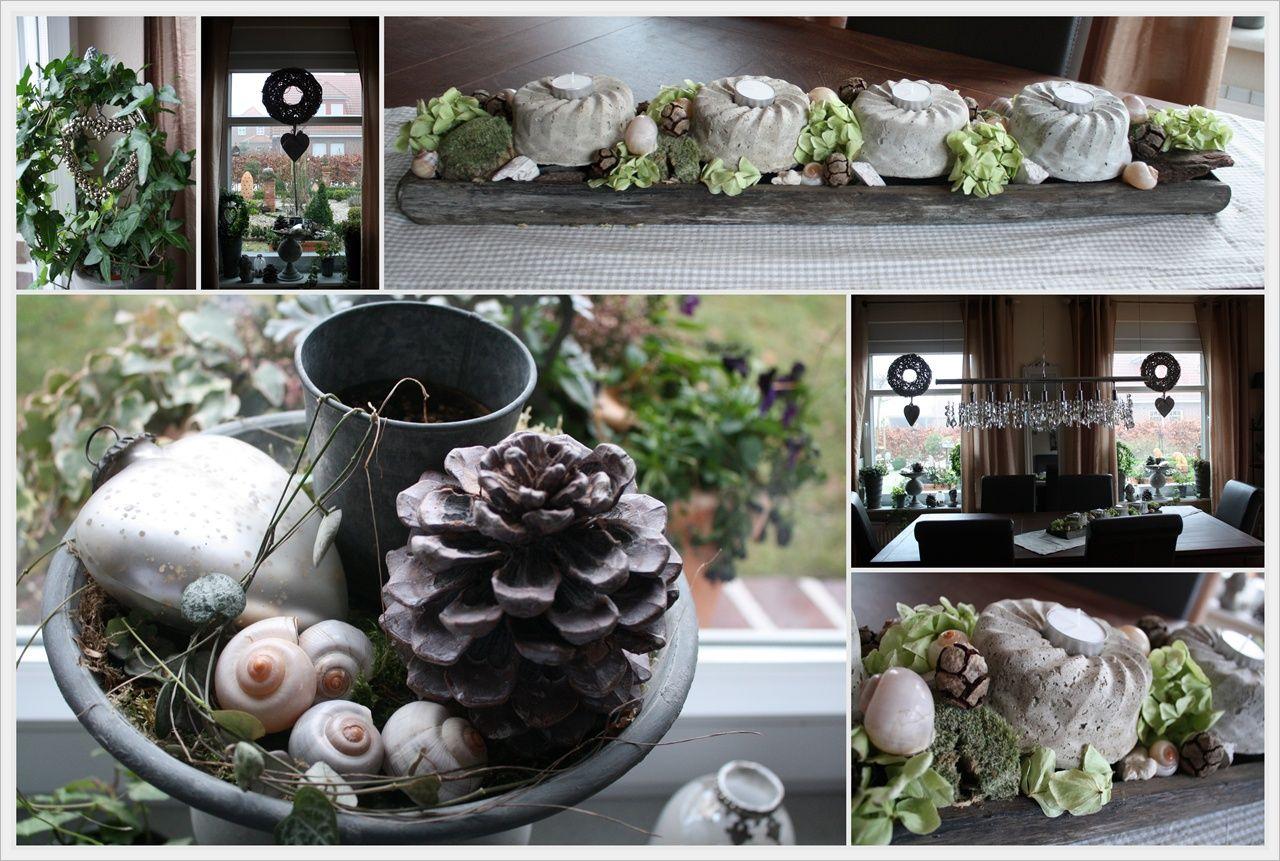 Pin von kreativtreff auf garten table decorations decor for Winterdeko fur garten