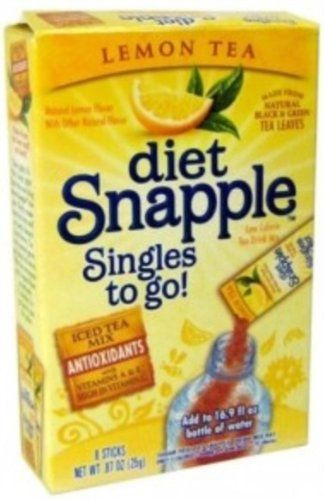Diet Snapple Singles To Go Variety Lemon 6 Count Box Pack Of 4 Check Out This Great Product Note It S An Affiliate Link Diet Snapple Lemon Tea Tea Diet