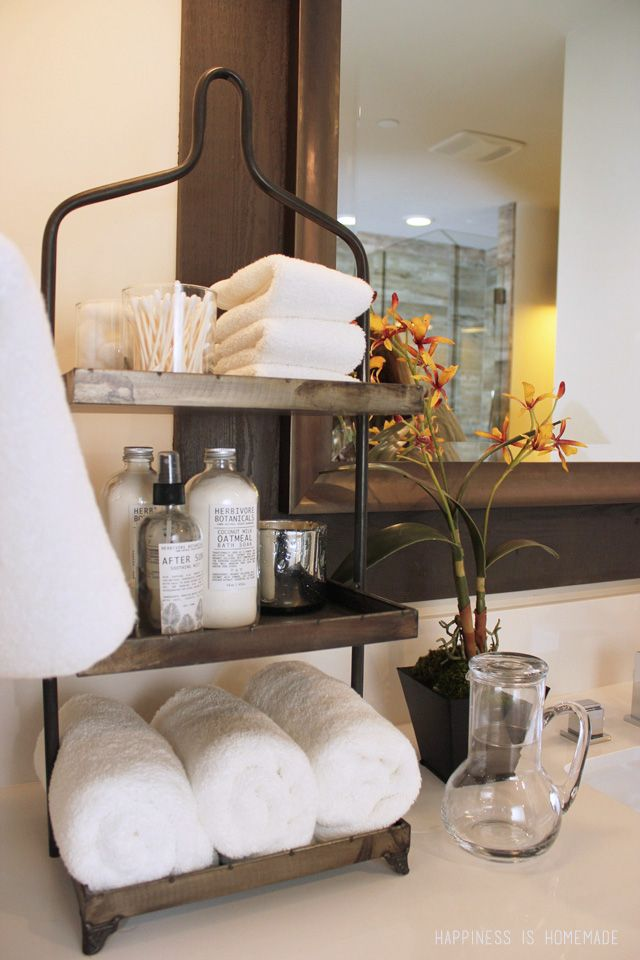 Tiered Bathroom Storage Shelf