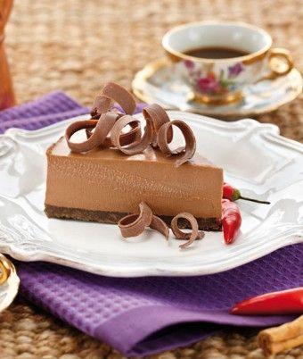 Chocolate Chilli Cheesecake de vazut