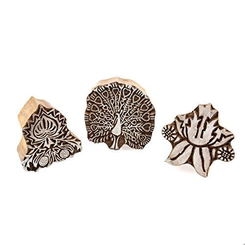 V&A Wooden Print Block - Extra Large (Assorted)