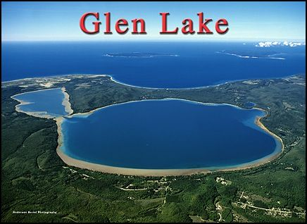 Glen Lake Prettiest Place In The World Big And Little And Lake