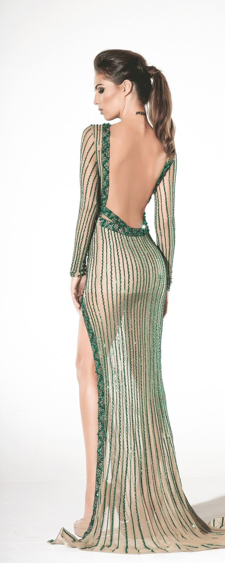 696967910397 Charbel Zoé Printemps-été 2016 - Haute couture… Skin Tight, Bodies, Backless
