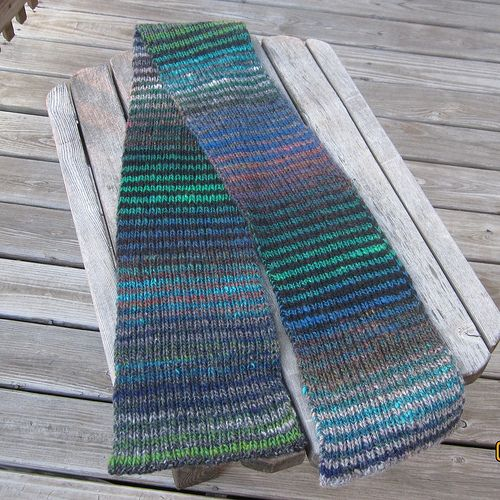 Ravelry: Project Gallery for Noro Striped Scarf pattern by ...