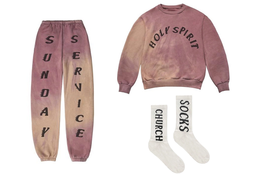 Kanye West Sells 50 Church Socks And 225 Sweatshirt At Coachella Easter Sunday Service In 2020 Kanye West Style Kanye West Cute Lazy Outfits