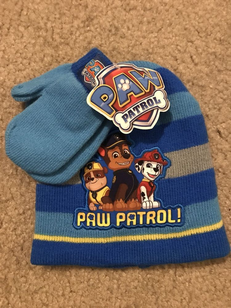 Kids' Clothing, Shoes & Accs Paw Patrol Toddler Winter Hat And Gloves
