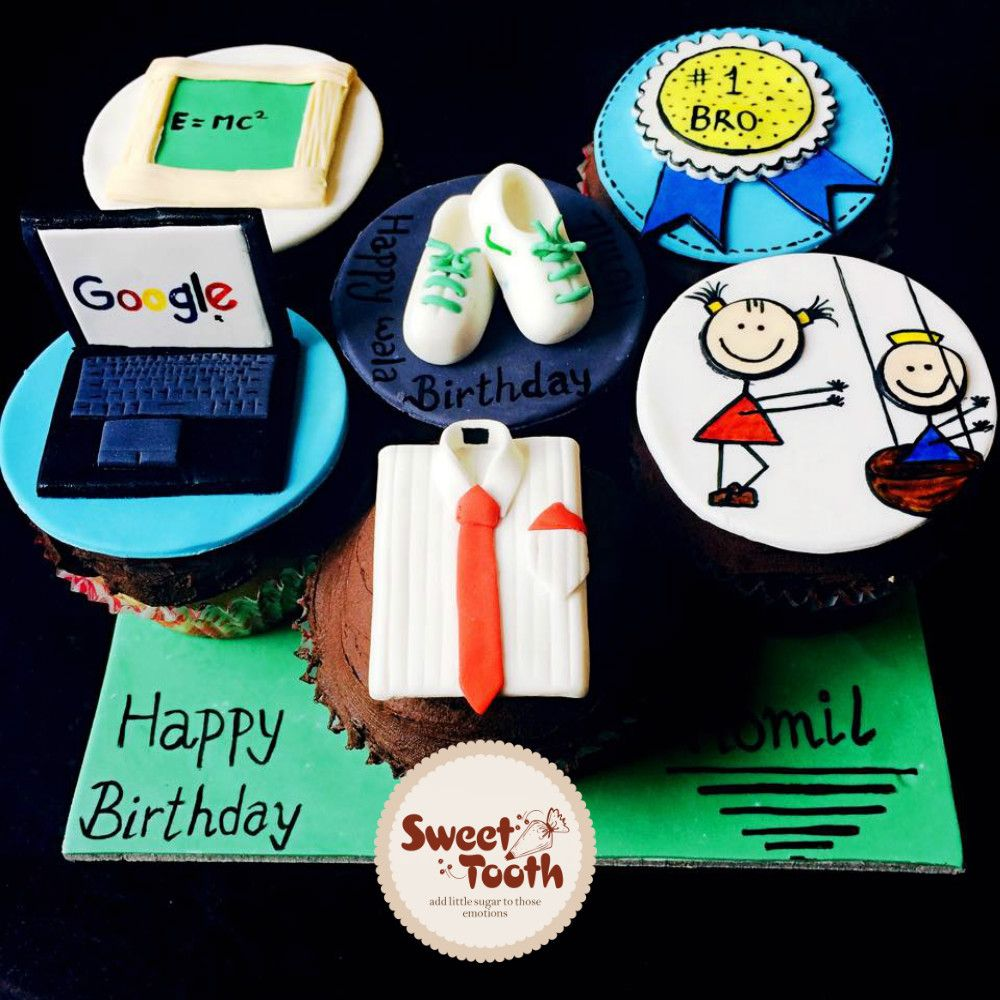 Miraculous Cupcakes For Brother Sugar Cookie Sweet Sweet Tooth Funny Birthday Cards Online Inifofree Goldxyz