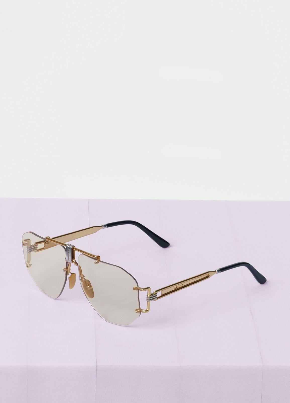 a6dc608085ff Aviator sunglasses in metal