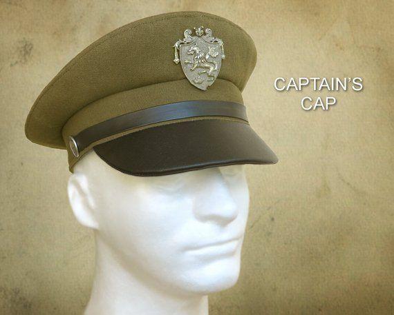 96ed0a4d9 SEWING PATTERN - Hyatt, Captain's Cap Pilot Skipper Greek Fisherman ...