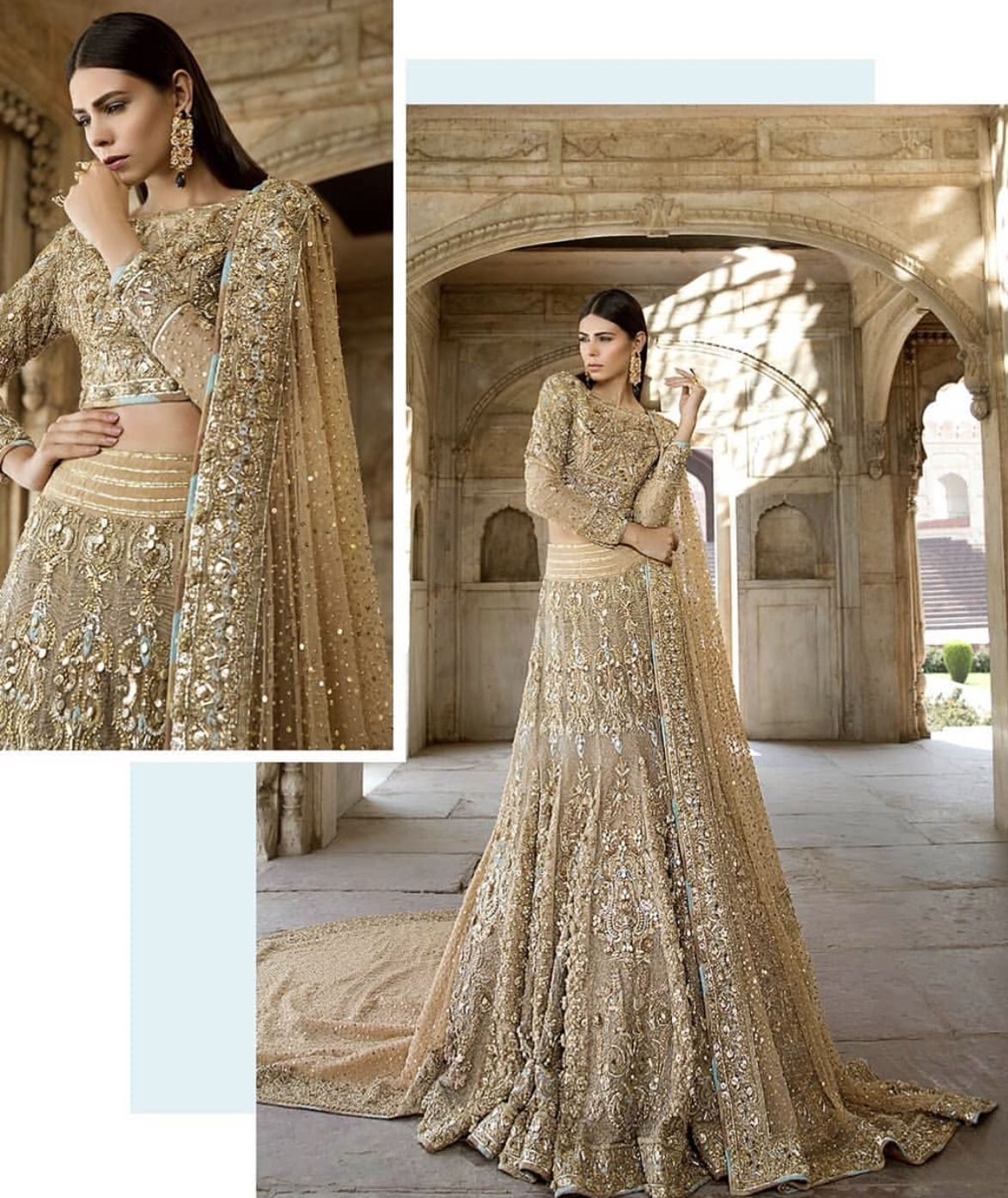 c8f4b78ab2 Indian Embroidery, Engagement Outfits, Lahenga, Pakistani Bridal, Indian  Designer Wear, Bridal