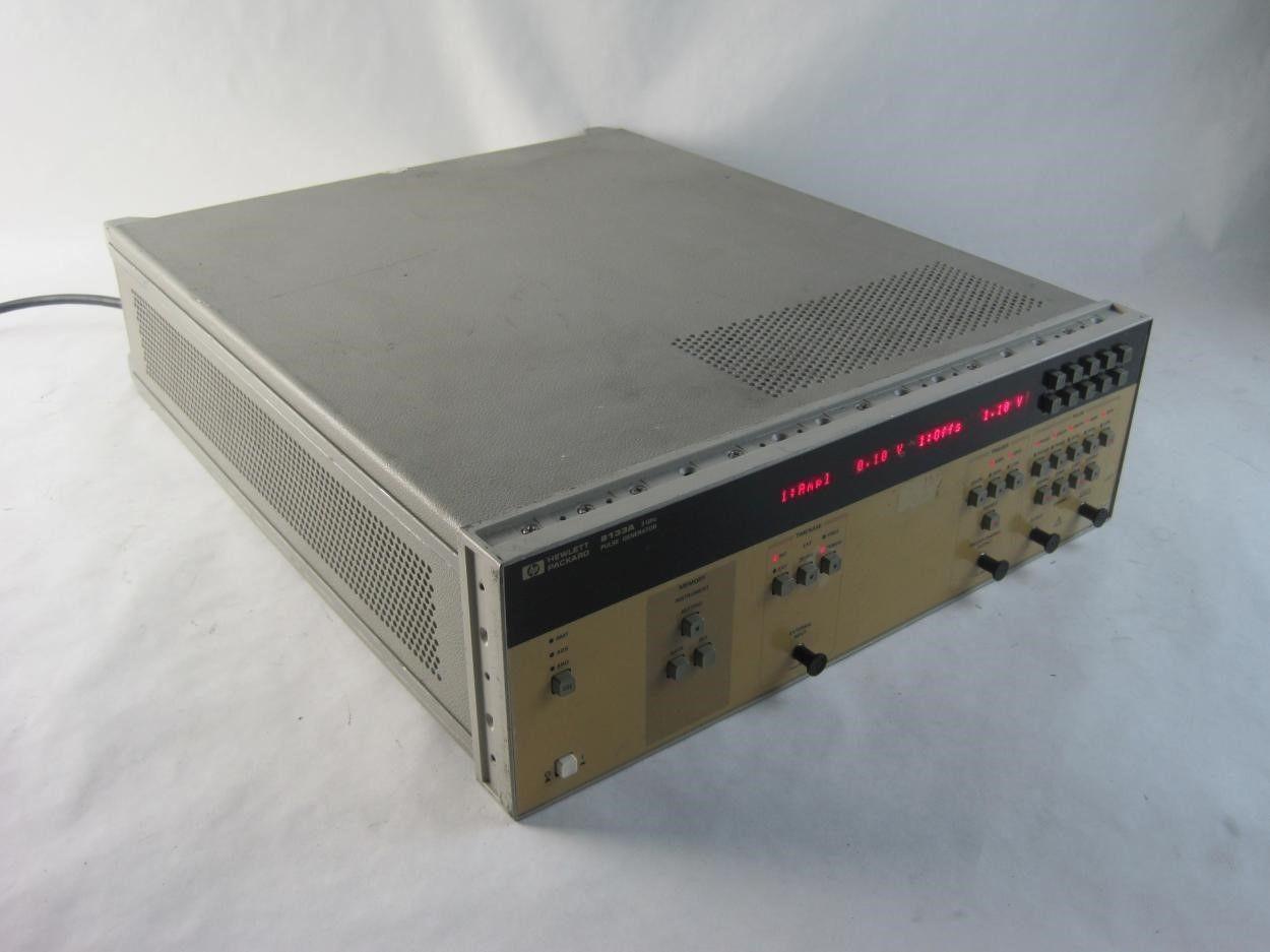 Hewlett Packard Agilent Hp 8133a Option 001 Single Channel 3ghz Generator Circuit Breaker Ebay Pulse Link