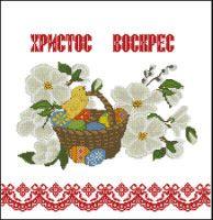 Gallery.ru / пасхальная салфеточка - Религиозная тематика - Nega3