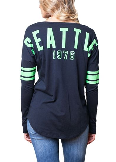 Seattle Seahawks Womens Spirit Football Jersey  992199687d