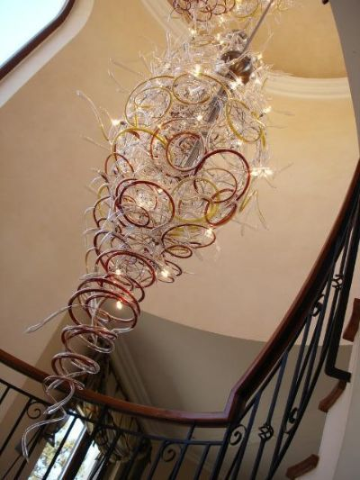 hand blown glass lighting custom glass blown glass arthome lighting glass chandeliers