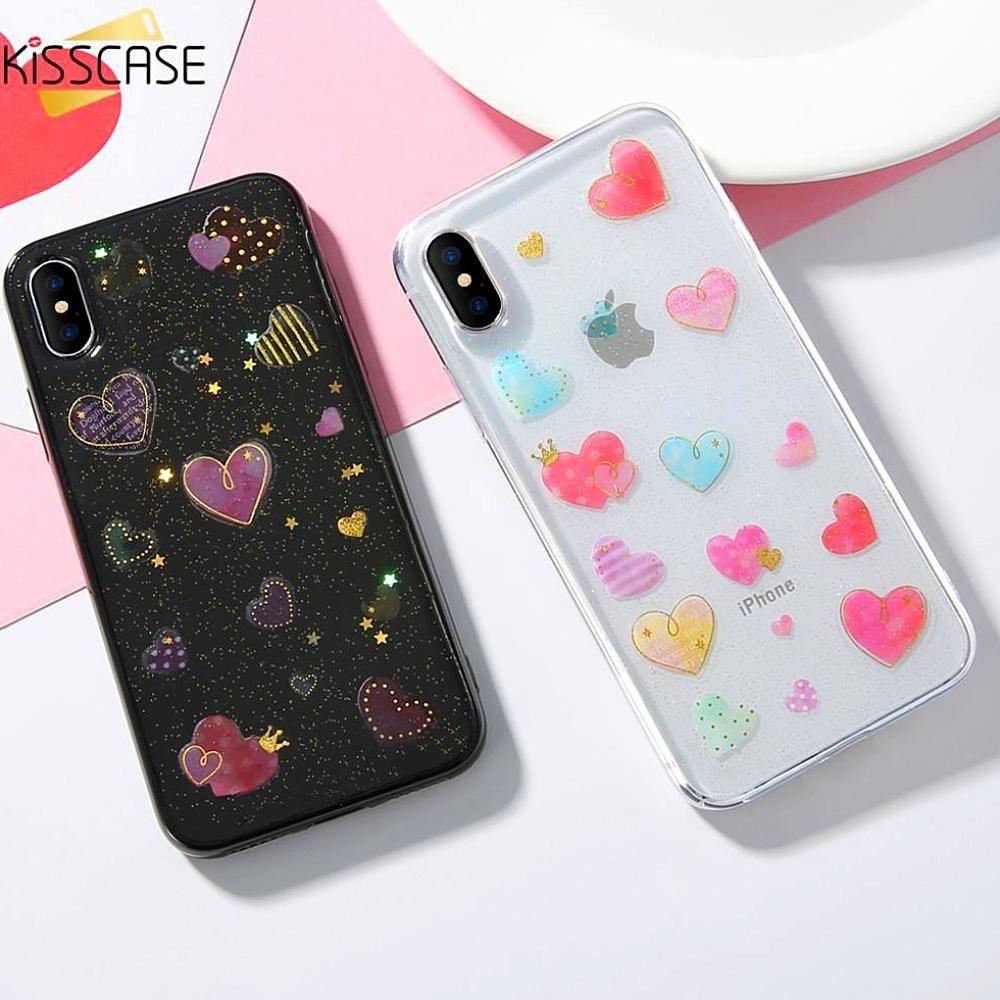Sweet Case iPhone X 10 5 6 7 8 plus, Cute Phone Case at a