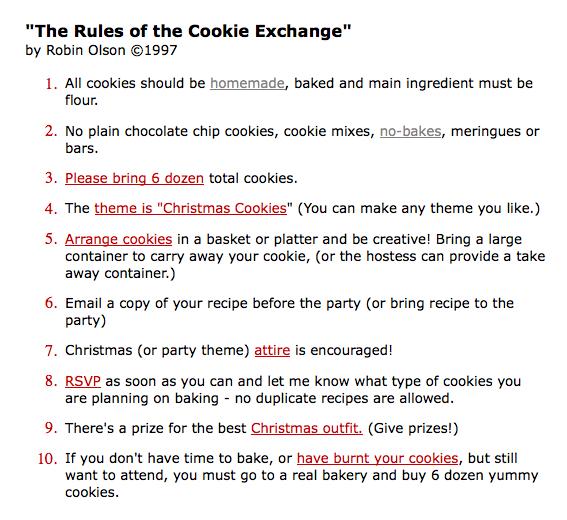 Cookie Exchange Com Holiday Cookie Exchange Cookie Swap Party Christmas Cookie Exchange
