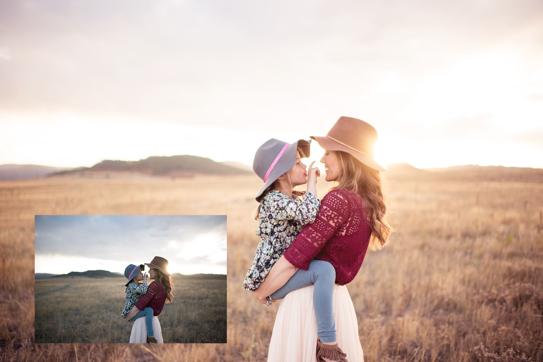FREE Watch me edit light/bright and airy in Photoshop