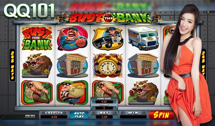 Bust The Bank Free Demo Online Slot With Loads Of Bonus Feature 243 Ways To Win 5 Reels Free Spins Free Demo Bonus Feature Platinum Games Casino Boys Night