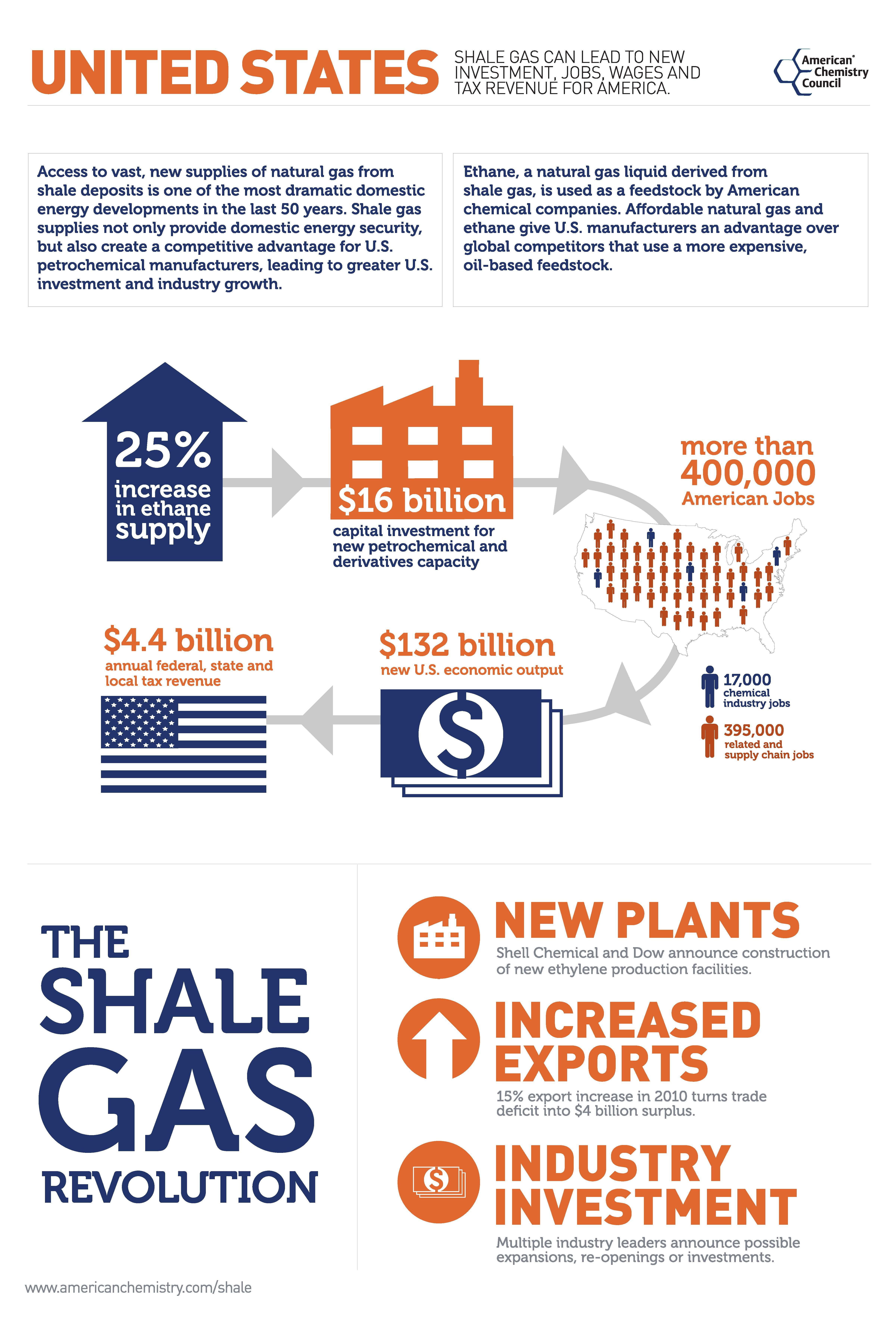 Shale gas revolution in energy
