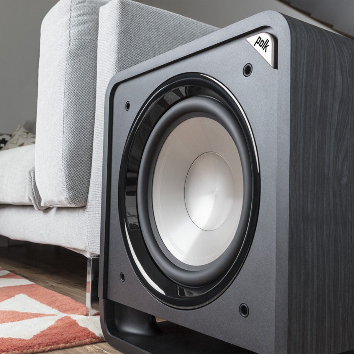 Polk Audio 12 Inches 400 Watts Home Theater Subwoofer Black Walnut Hts Sub 12 Blk Wal Click Image For More Det Polk Audio Home Theater Subwoofer Audio Ideas
