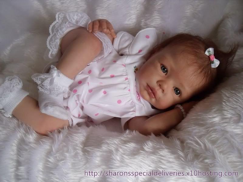 Reborn Baby Doll Lila Romie Strydom New Release Big Girl