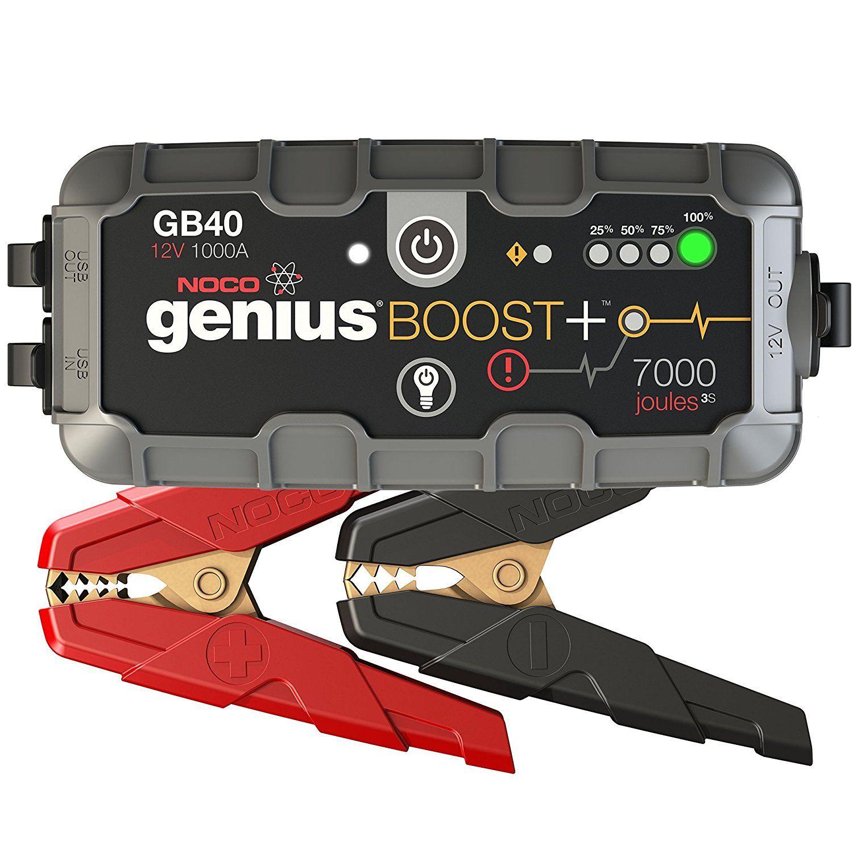 Amazon Com  Noco Genius Boost Plus Gb40 1000 Amp 12v Ultrasafe Lithium Jump Starter  Automotive