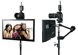 DIY Photo Booth with a DSLR and iPad   Photo booth setup ...