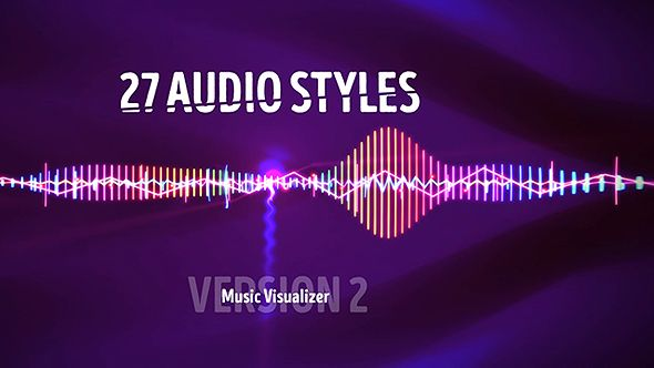 Audio Visualizer Music React 2 by BoxMotion Take a Look at My Other