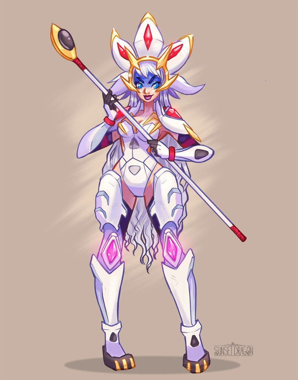 SOLGALEO Gijinka Pokemon Sun by FlyingFox Gijinka