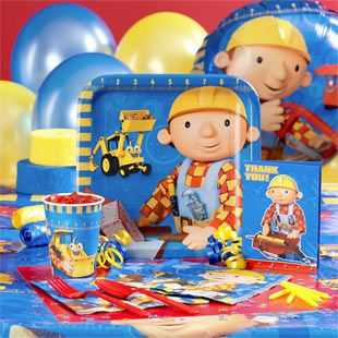 Clyde S Cupcake Magic Bob The Builder Birthday Party Digger Birthday Parties Construction Birthday Parties Construction Birthday