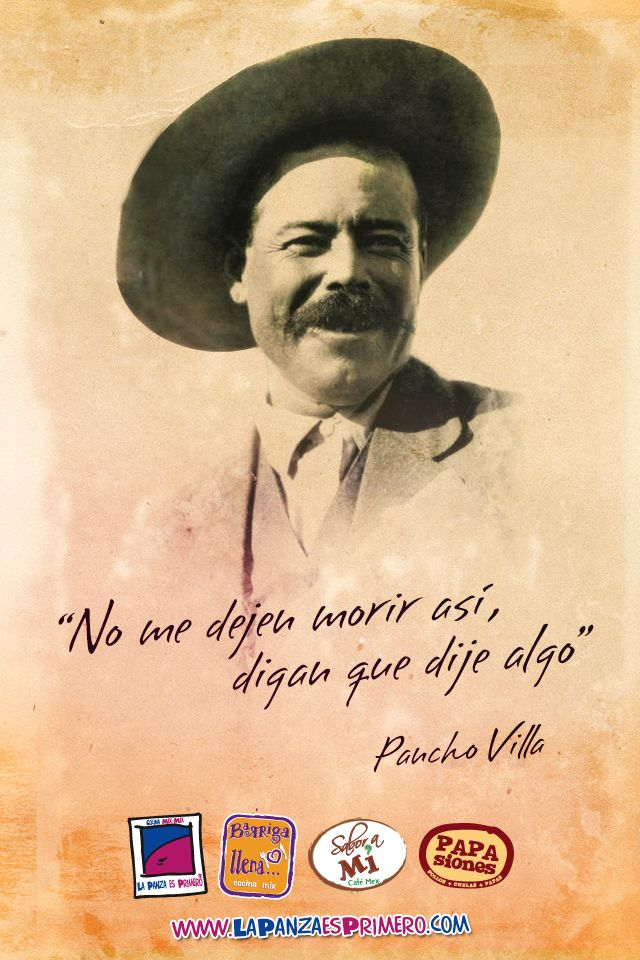 pancho villa Welcome to pancho villa mexican restaurant opentable site pancho villa has a vast menu of authentic mexican cuisine from tacos and enchiladas to soups and tamales, pancho villa's has it all.