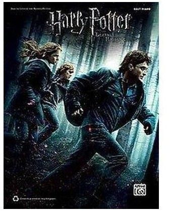 Harry Potter And The Deathly Hallows Part 1 Easy Piano Paperback Phantastische Tierwesen Filme Magie