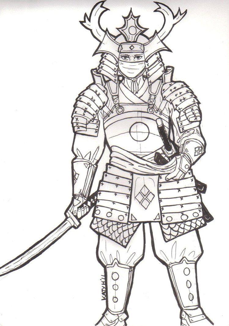 Ghim Tren Samurai