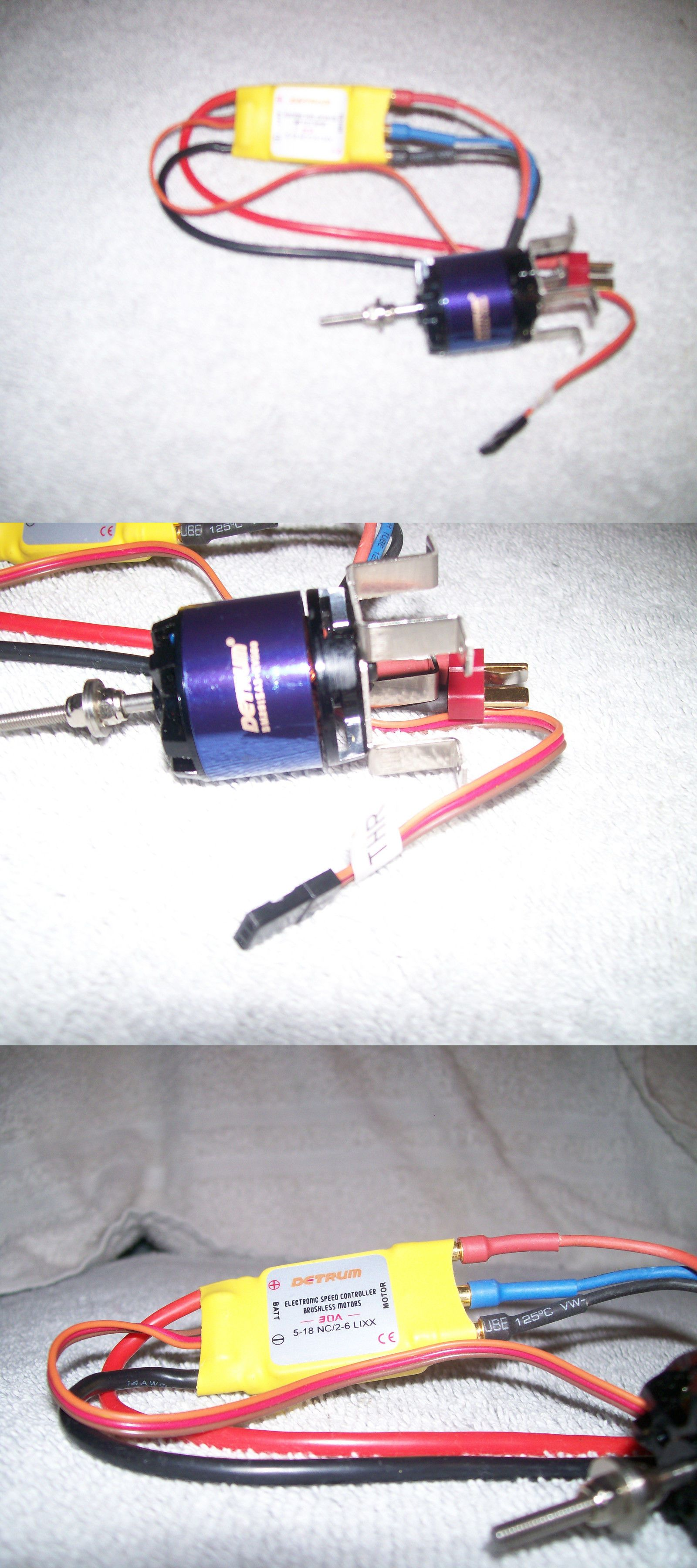 Electric Motors 100058: Detrum Bm2815a3 Kv1100 Brushless Motor For Dynam  Piper Cub Rc Airplane -