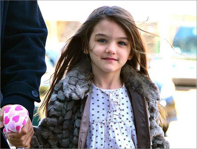 صور ابنة توم كروز Suri Cruise Stylish Kids Fashion Line