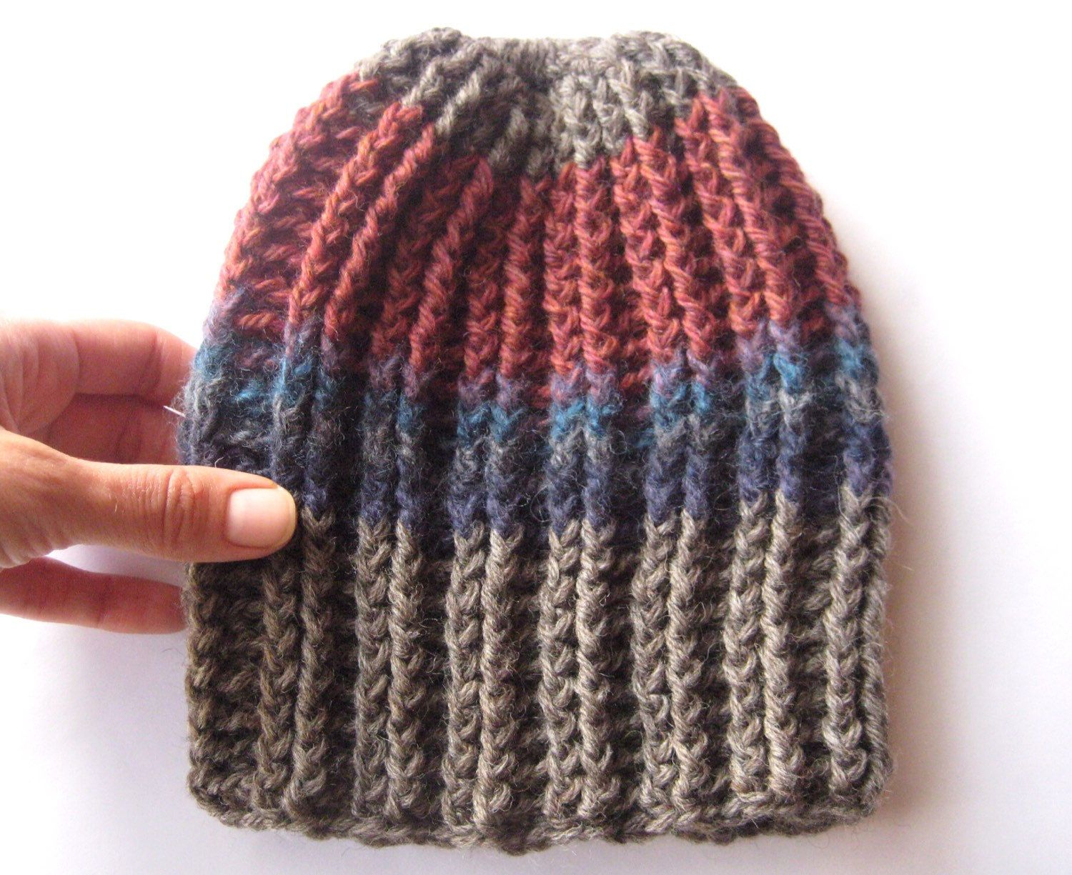 A personal favorite from my Etsy shop https://www.etsy.com/listing/253244978/cambridge-rain-nature-inspired-beanie