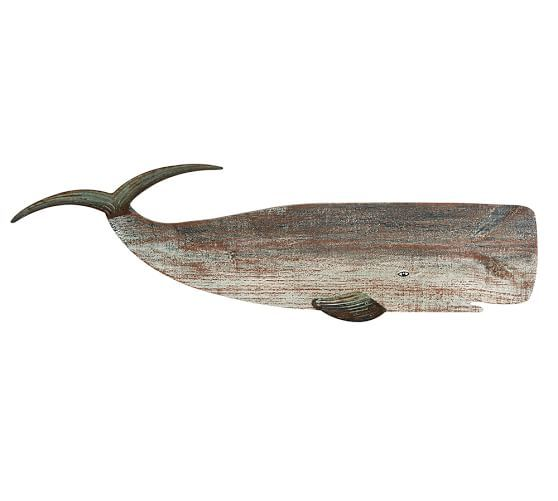 Painted Wood Whales Wall Art Set Painting On Wood Wall