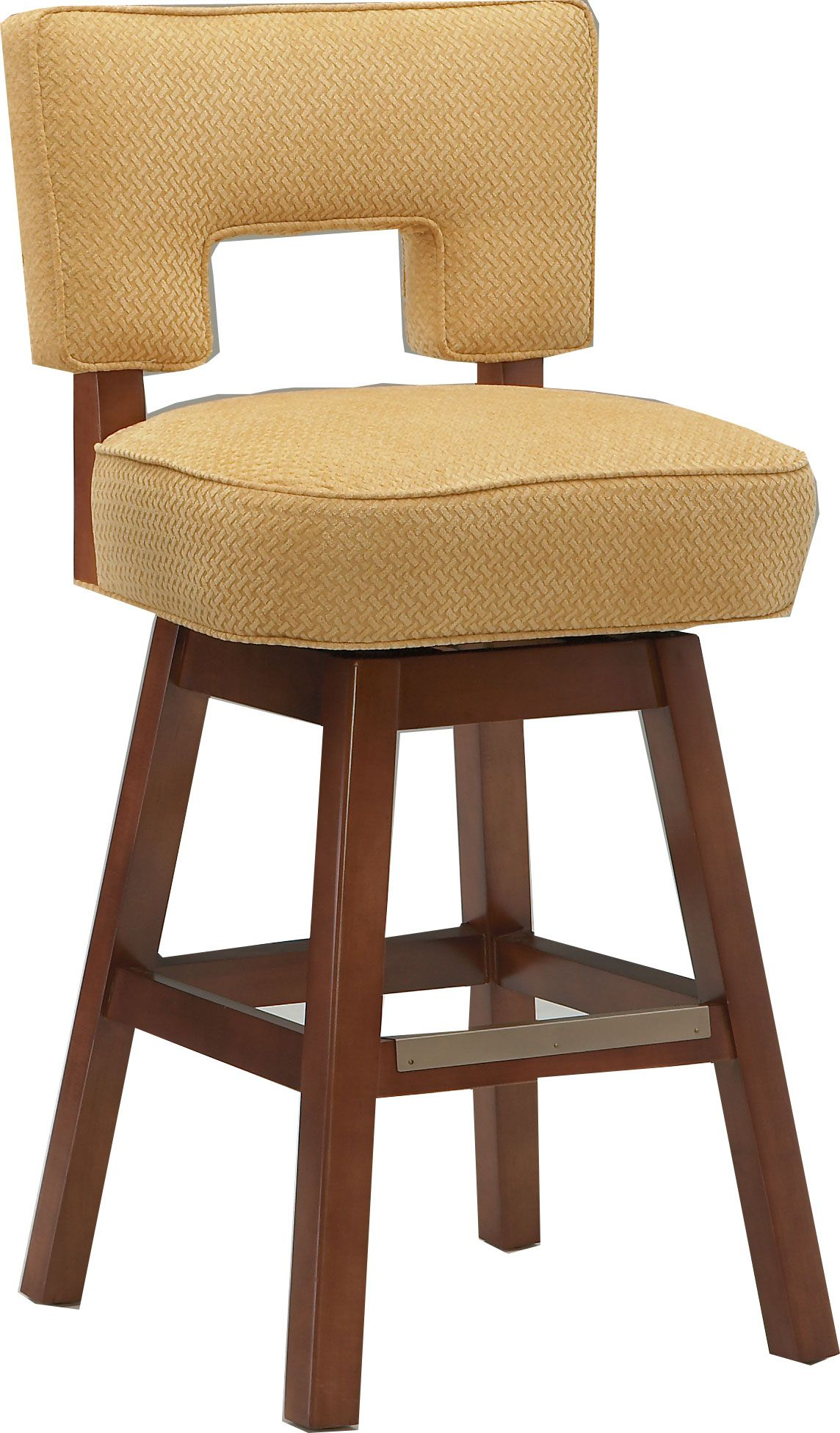 Cox Furniture Southport Nc #29: COX 702C SWIVEL COUNTER STOOL: Customize Upholstery, Frame Finish, And Foot Plate.
