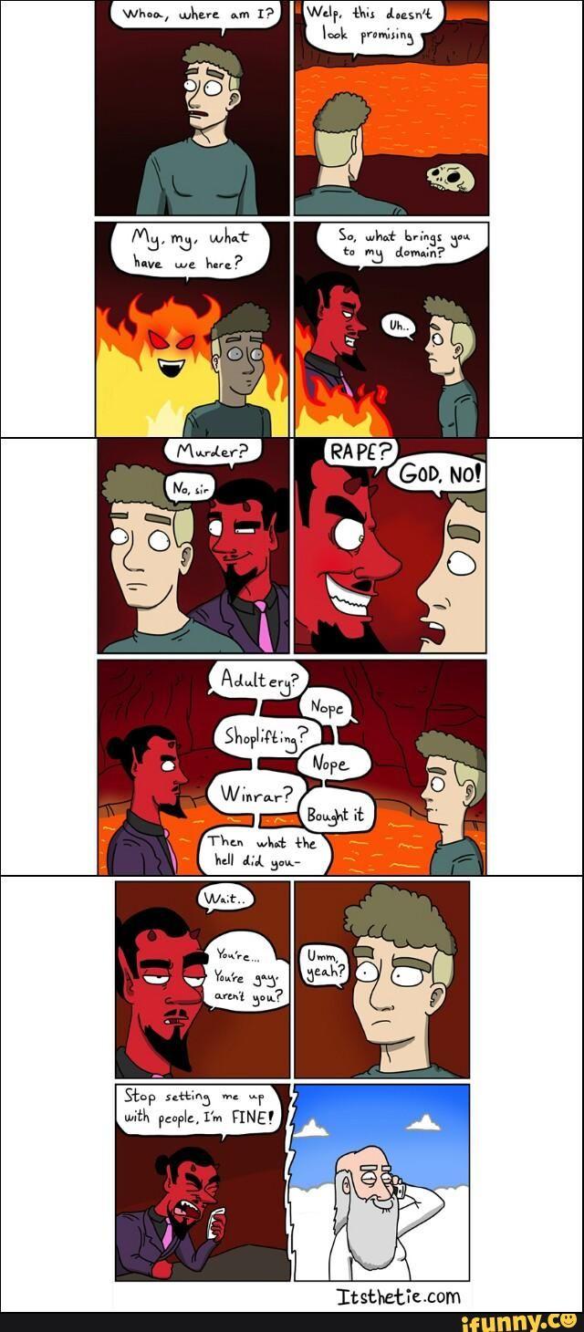 Gay Comic Devil