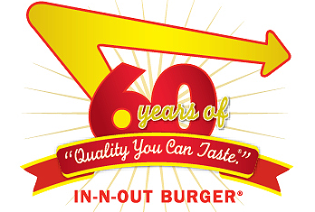 Image For In N Out Burger S 60th Anniversary In And Out Burger In N Out Burger Inn N Out