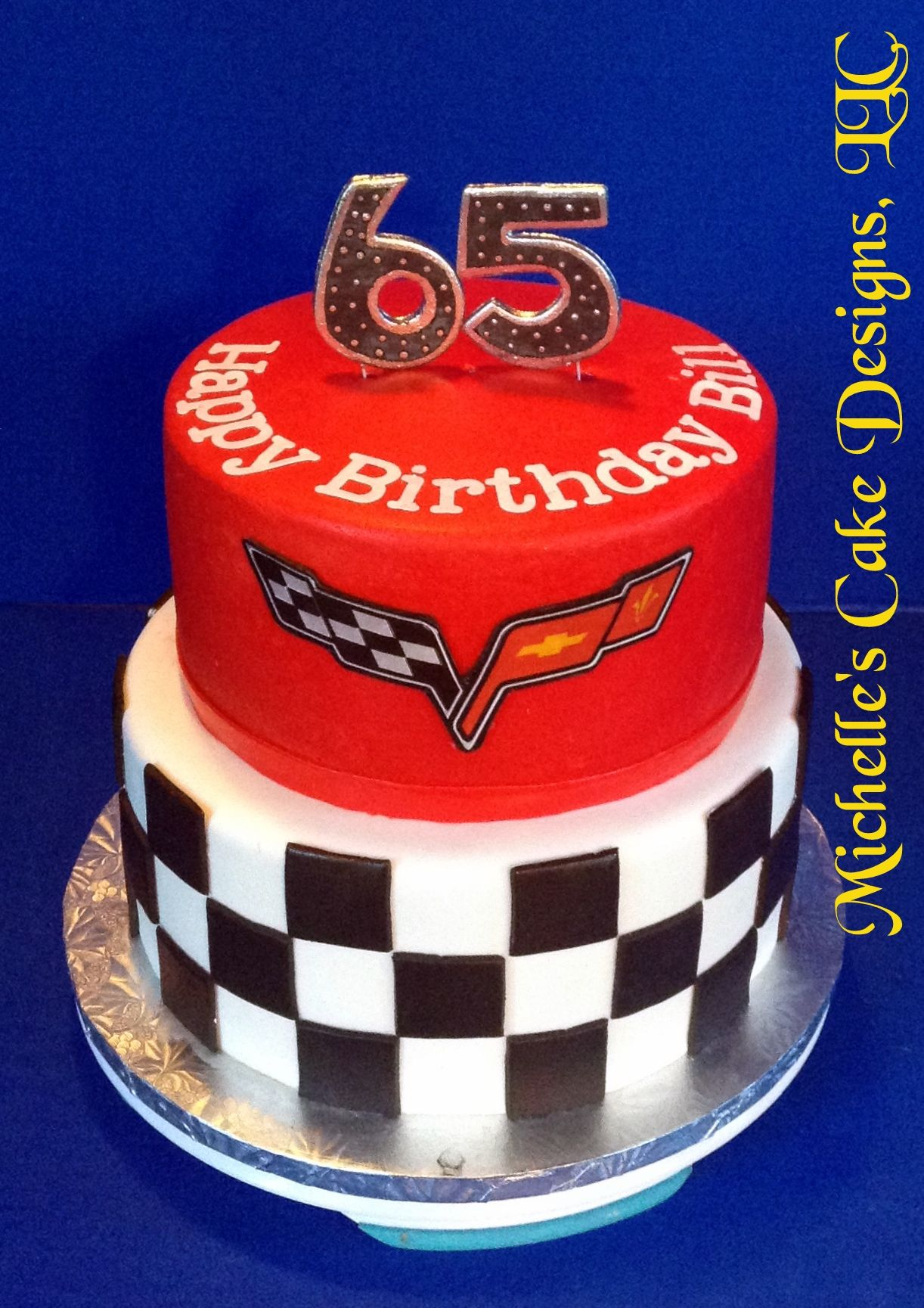 Corvette Cake Cakes We Make In 2019 Birthday Cake For