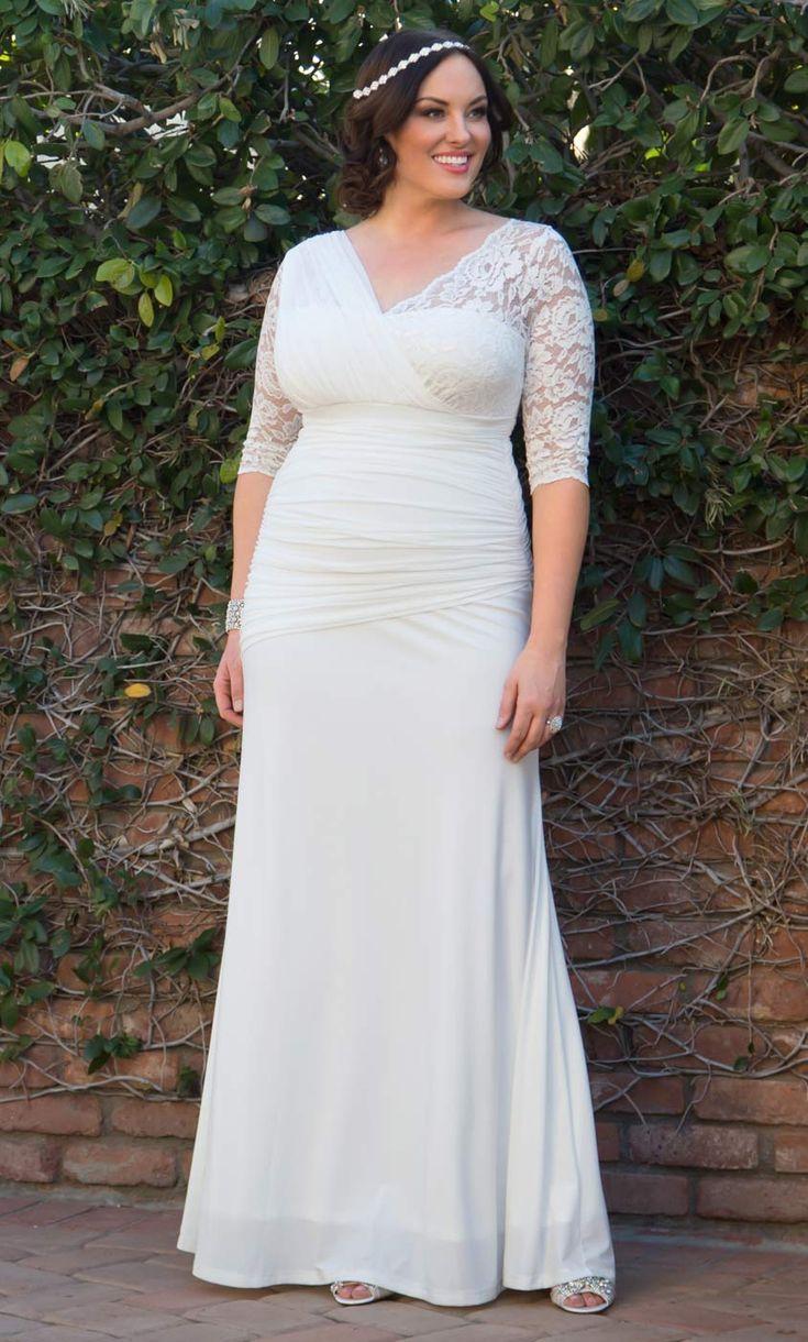 Wedding Dress for Big Women - Best Wedding Dress for Pear Shaped ...